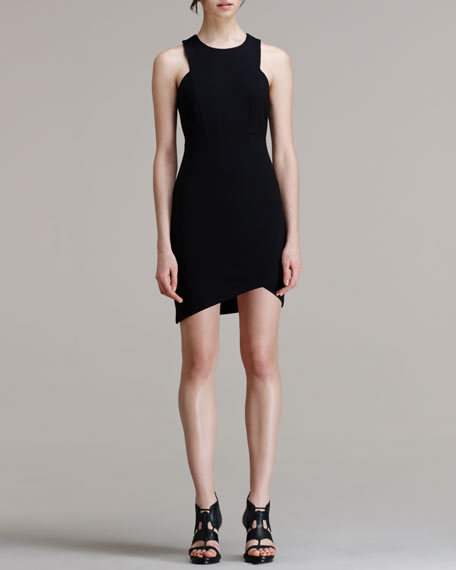Form Asymmetric-Hem Dress