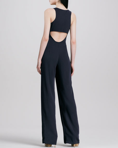 Lindla Sleeveless Wide-Leg Jumpsuit