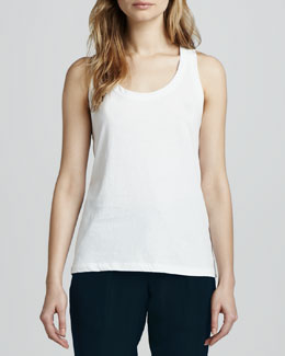 Theory Ossia Sleeveless Slub Top