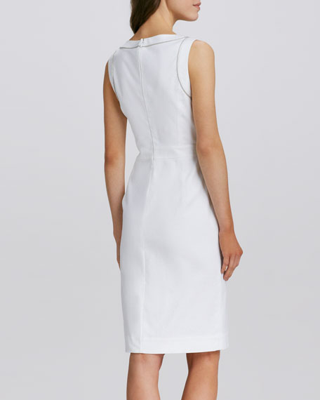Zole Fitted Twill Dress