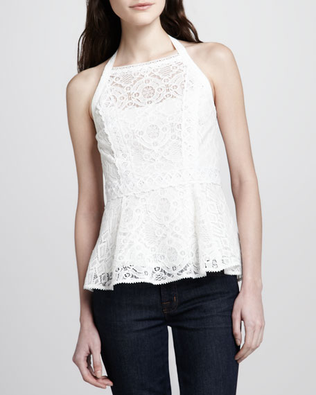 Must-See Sleeveless Lace Top