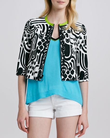 Casa Mila Printed Jacket