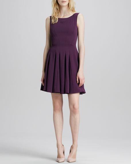 Kaien Pleated-Skirt Dress