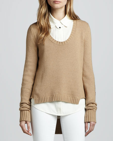 Andre Patch Sweater