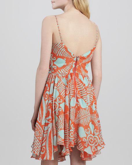 Gemma Tribal-Print Dress
