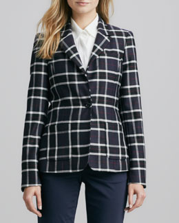 Alice + Olivia Savetta Plaid Jacket
