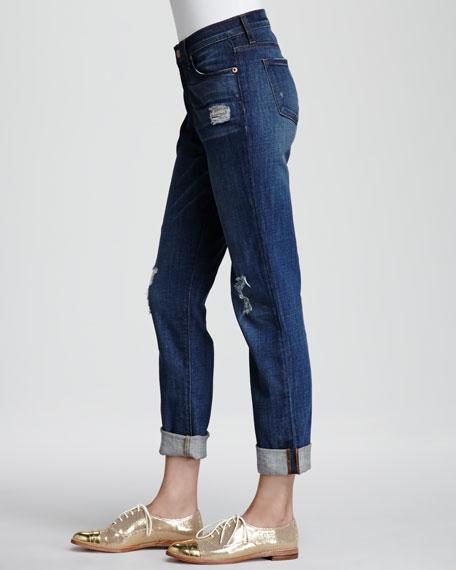 Aiden Flintlock Distressed Boyfriend Jeans