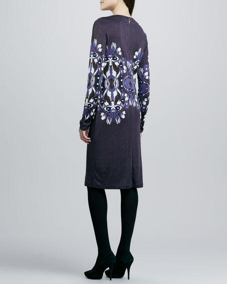 Flavia Long-Sleeve Dress