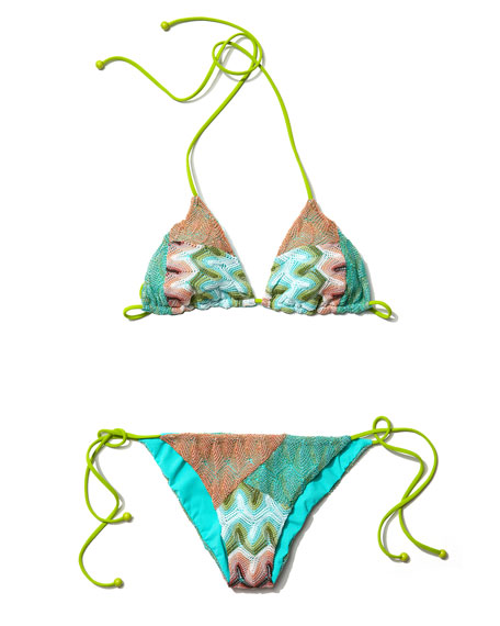 Zigzag String Bikini