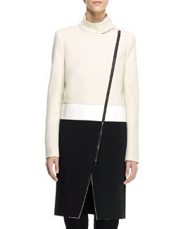 Joseph Preston Colorblock Techno Coat