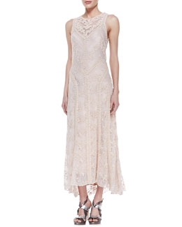 Nanette Lepore Neo-Romantic Lace Sleeveless Dress