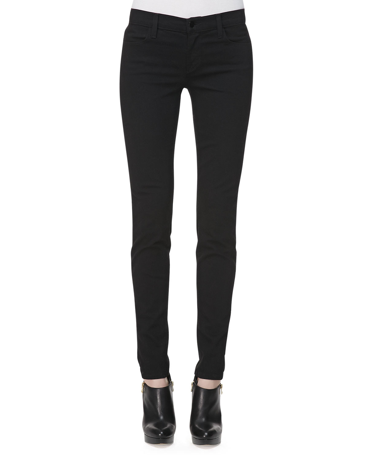 new authentic super cute for sale Maria Vanity High-Rise Skinny Jeans