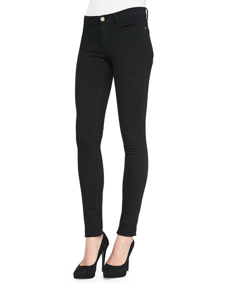Denim - Pantalon En Denim Noir Le KxFXaT