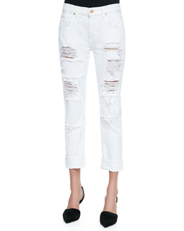 Destroyed Patch Relaxed Slim