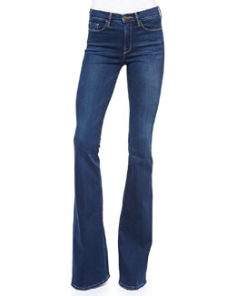 Forever Karlie Flared-Leg Denim Jeans, Blue