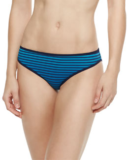 Jamie Radioactive Striped Swim Bottom