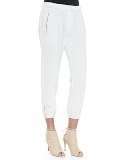 Charlet Pull-On Tapered Track Pants