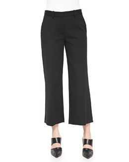 Sprinza Cropped Wide-Leg Pants