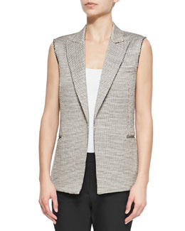 Eldora Patterned Suiting Vest