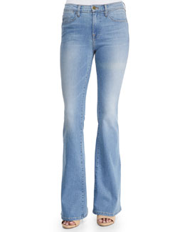 Le High Flare Denim Jeans, Lovella