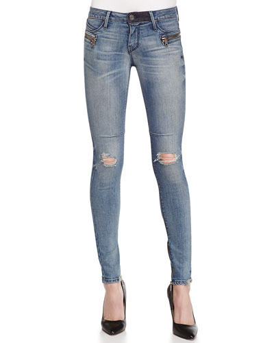 Jagger Cosmic Distressed Denim Jeans