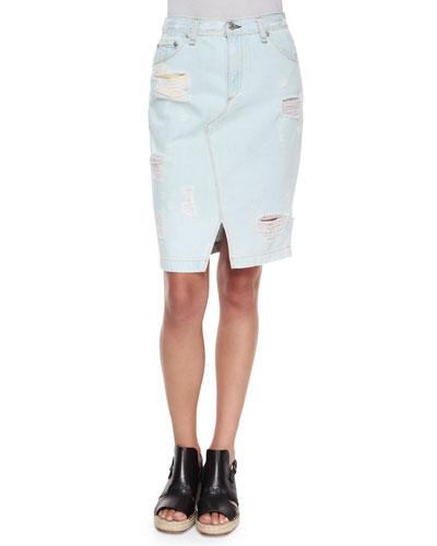 The Denim Skirt, Norte