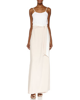 Neal Full-Length Skort Jumpsuit