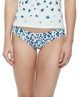 Sierra Printed Hipster Swim Bottom