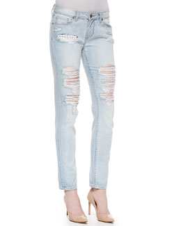 Jimmy Jimmy Distressed Skinny Jeans, Sawyer