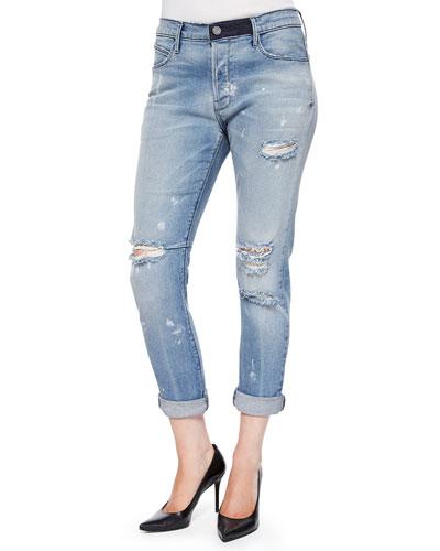 Ryder Blue Mist Distressed Jeans
