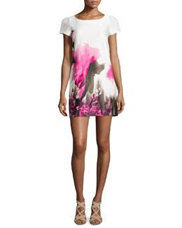 Chloe Floral-Print Sheath Dress