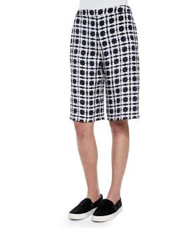 Kidd Floral-Pattern Bermuda Shorts