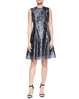 Grace Sleeveless Plisse Dress