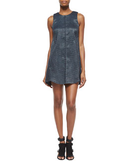 Philipa Shimmery Tweed Dress