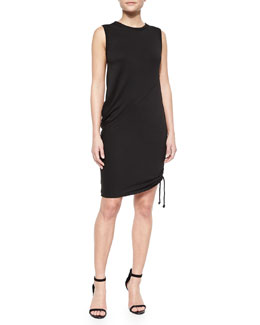 Nadia Asymmetric Draped Dress