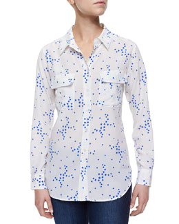 Star Cluster Slim Signature Blouse
