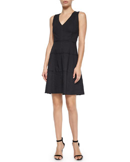 Jemion Crunch Sleeveless Dress