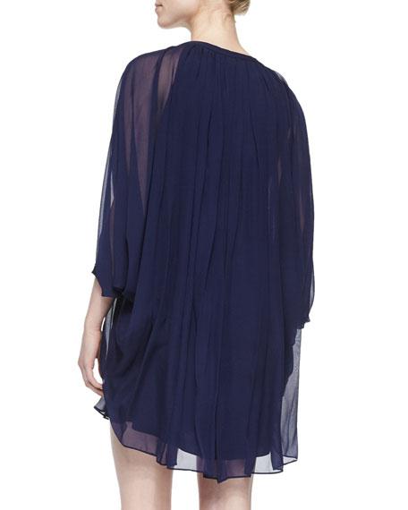 Fleurette Swingy Chiffon Dress