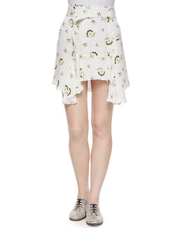 Daro Floral-Print Skirt