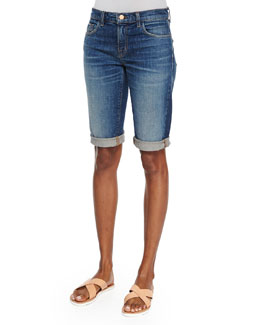 Beau Stretch Bermuda Shorts, Rebound