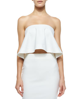 Addilyn Flowing Strapless Top