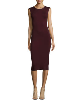 Koldeen Preen Sleeveless Sheath Dress