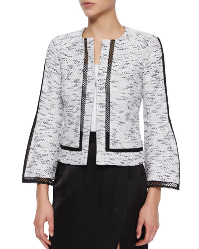 Graphic Tweed Jacket