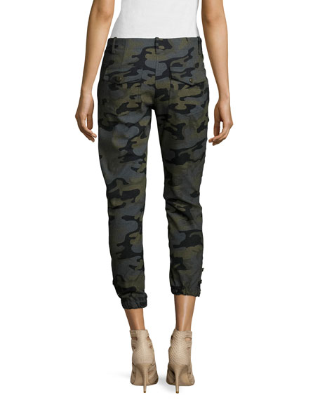 Field Camouflage-Print Cargo Pants