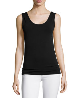 Neely Knit Tank, Black