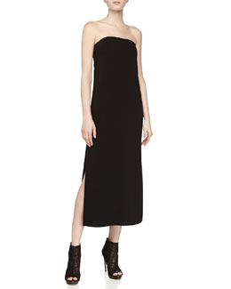 Lia Strapless Long Dress