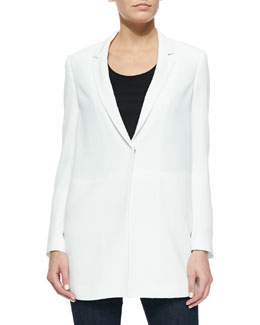 Franco Loose Long Blazer