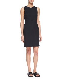 Ranied Jetty Sleeveless Dress, Black