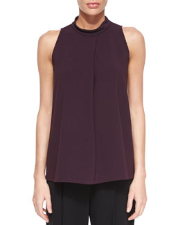 Talniza Sleeveless Crepe Top