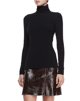 Eliezer Turtleneck Long-Sleeve Top